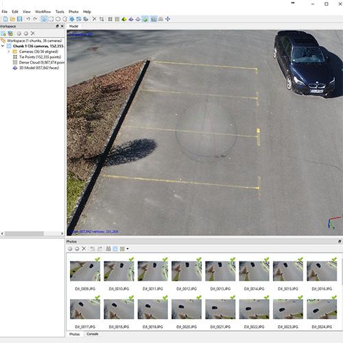 Unfallrekonstruktion - Drohne - UAV